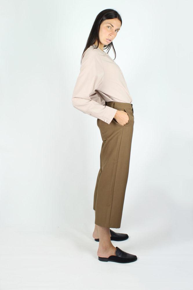 pantalone cropped con tasche a cino HAROLD DEP 2