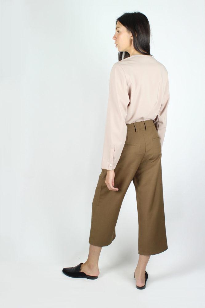 pantalone cropped con tasche a cino HAROLD DEP 3
