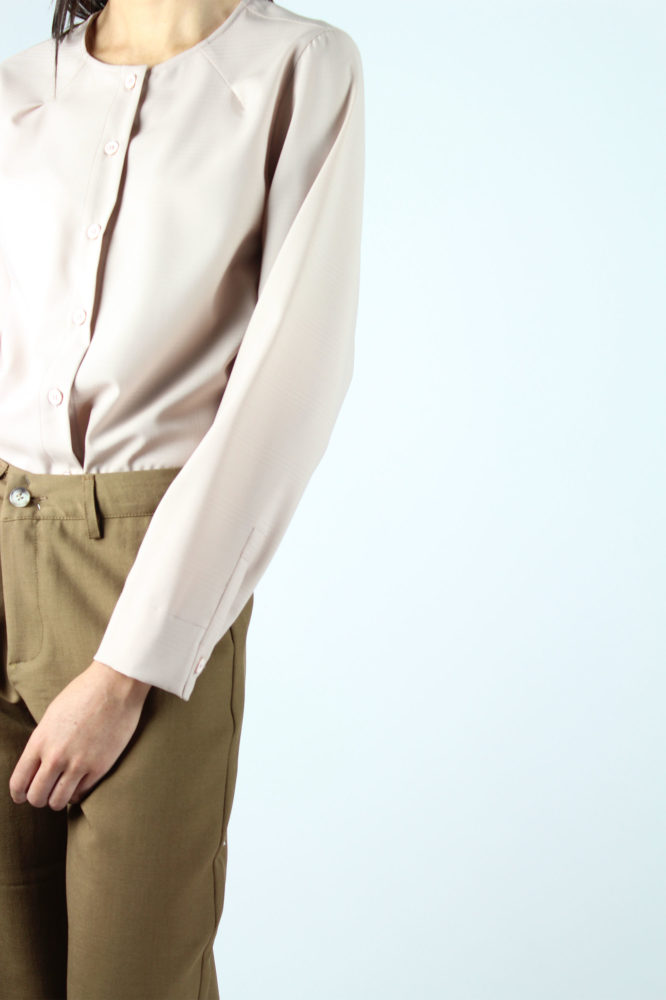 pantalone cropped con tasche a cino HAROLD DEP