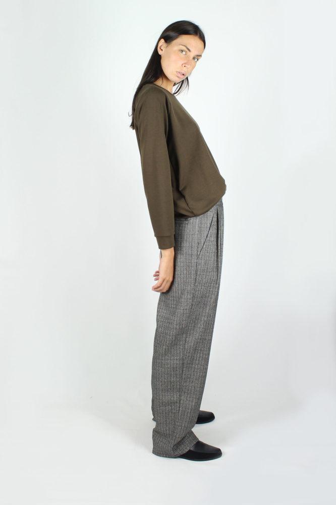 pantalone doppia pinces ampio dep 1