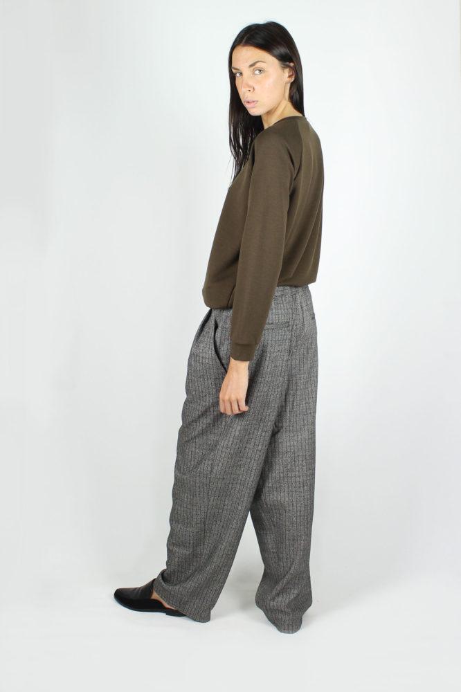 pantalone doppia pinces ampio dep 2