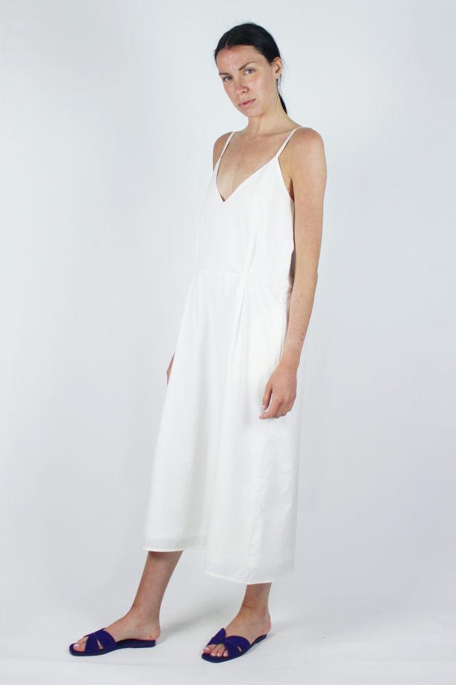 abito spallina fina bianco Mable Dep 1 copia