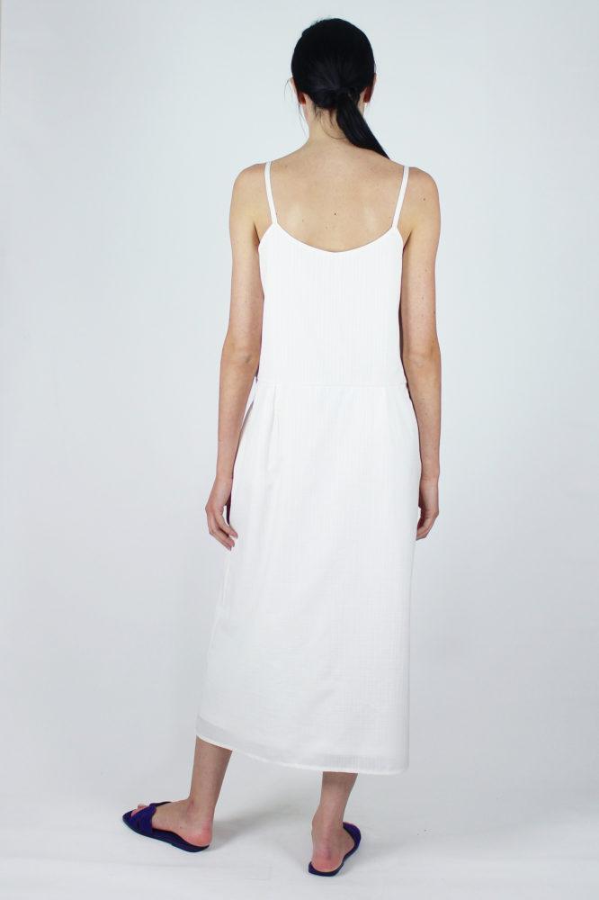 abito spallina fina bianco Mable Dep 2 copia