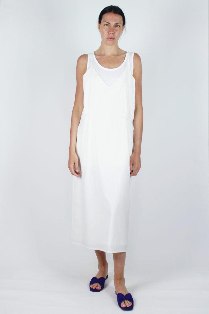 abito spallina fina bianco Mable Dep 3 copia